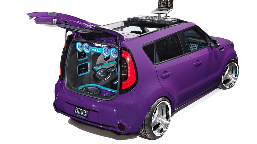 Kia unveils five music-themed Souls at SEMA
