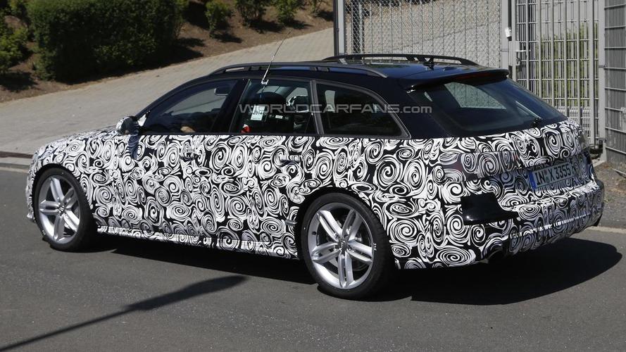 Audi A6 allroad quattro facelift spied hiding minor changes