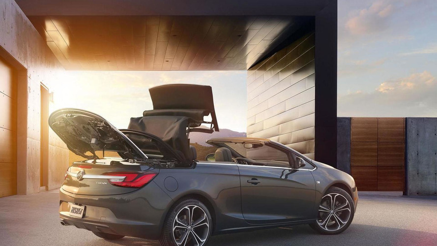 2016 Buick Cascada starts at $33,990