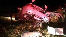 BMW M3 F80 crash