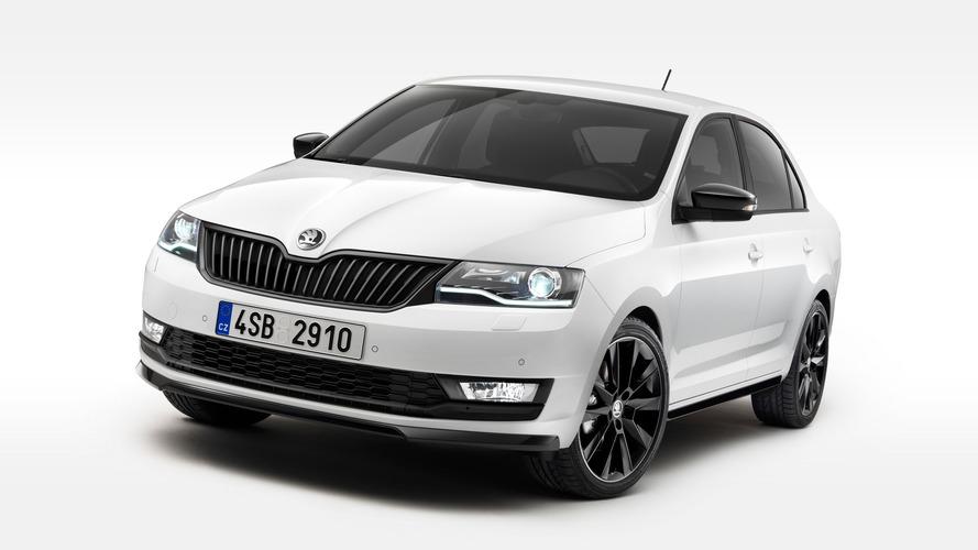 Skoda Rapid facelift revealed with bi-xenon headlights, 1.0 TSI