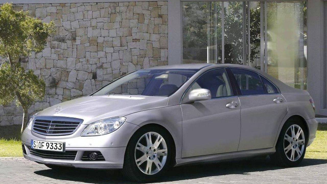 New Mercedes C-Class computer image