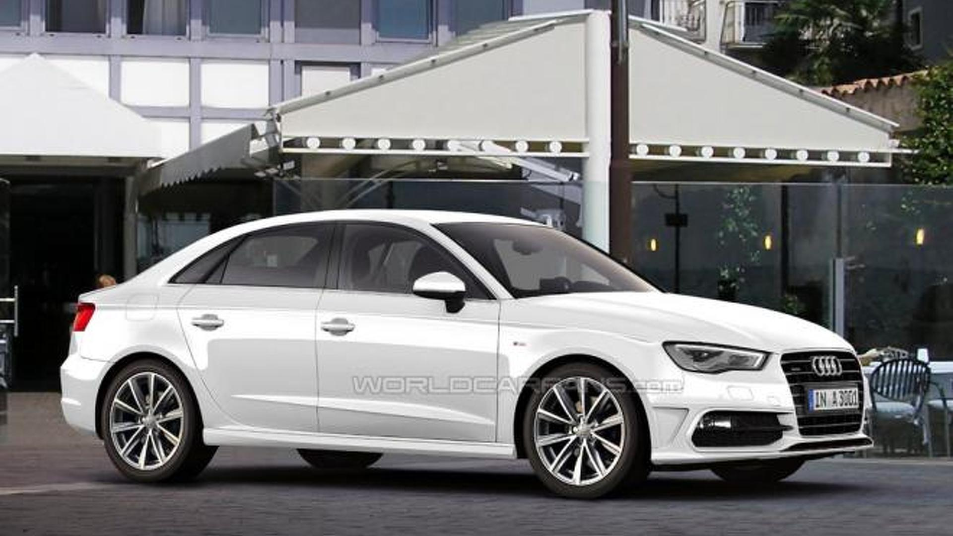 Audi A3 sedan confirmed for U.S. launch later this year