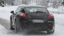 2013 Porsche Panamera facelift spy photos 20.01.2012