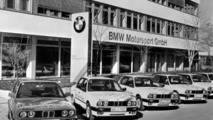 The building of BMW Motorsport GmbH, 1990 17.5.2012