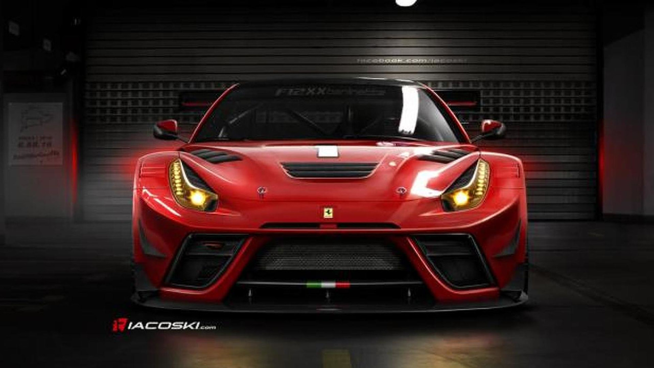 Ferrari F12XX Berlinetta specutively rendered