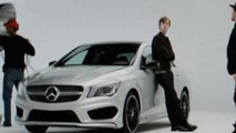 Mercedes-Benz CLA teaser photo (enlarged)