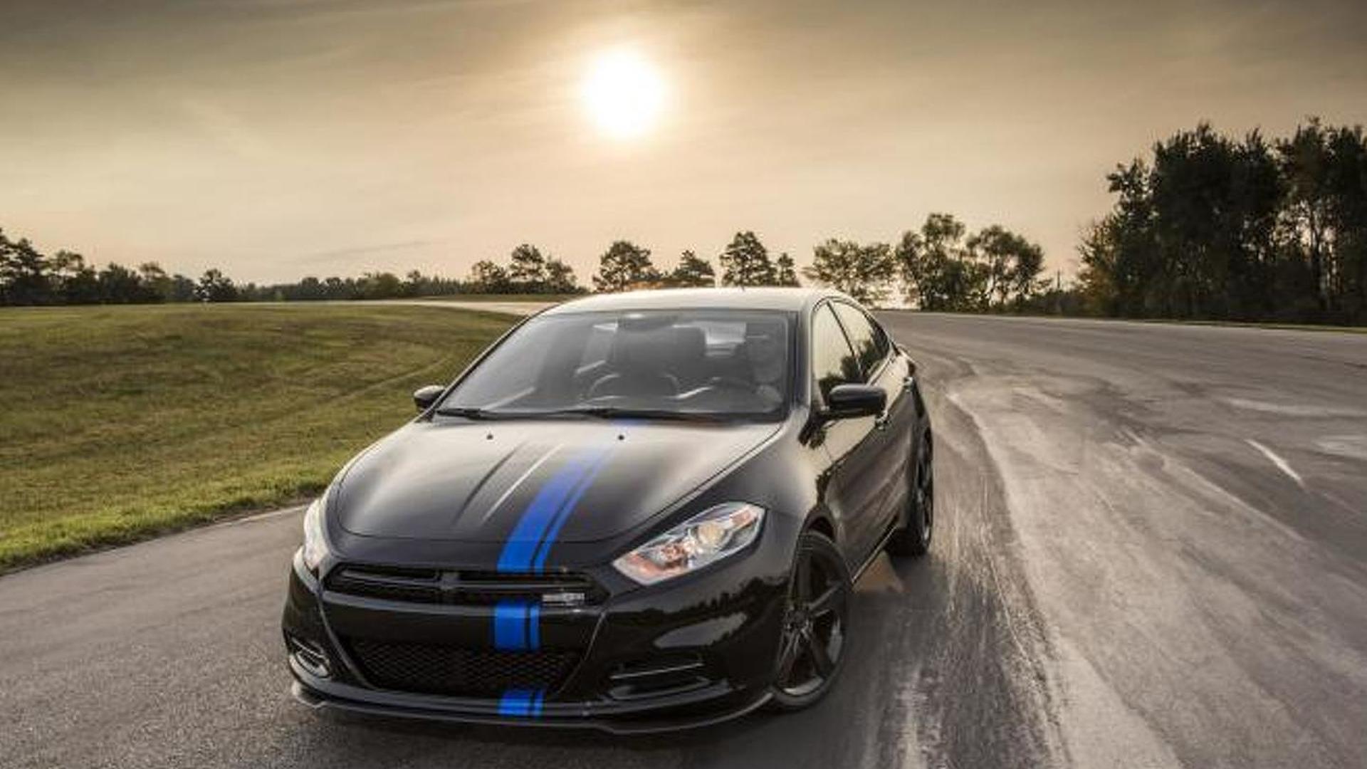 2013 Dodge Dart Mopar revealed ahead of Chicago Auto Show