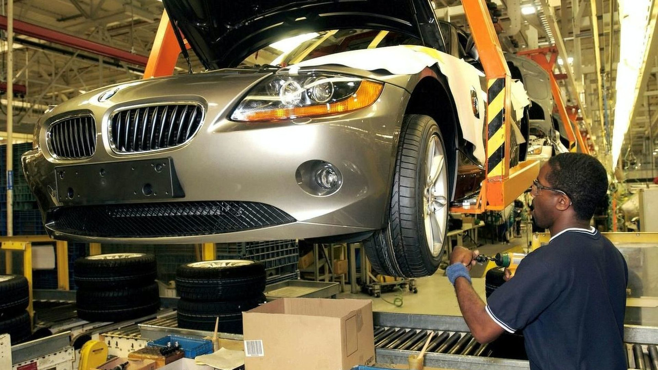 BMW Z4: Production in the Plant Spartanburg, USA