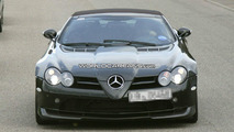 Mercedes SLR 722 Edition Roadster spy photo