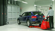 New VW cold and climate test center