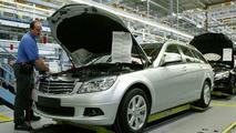 Mercedes C Class Estate: Production Launched
