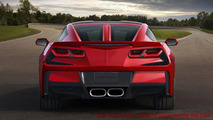 Corvette Stingray GT rendered by WCF reader