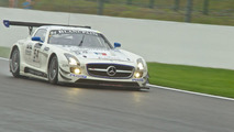 Mercedes-Benz Black Falcon SLS AMG GT3 at Spa 01.08.2011