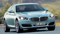 2010 BMW 5 Series rendering