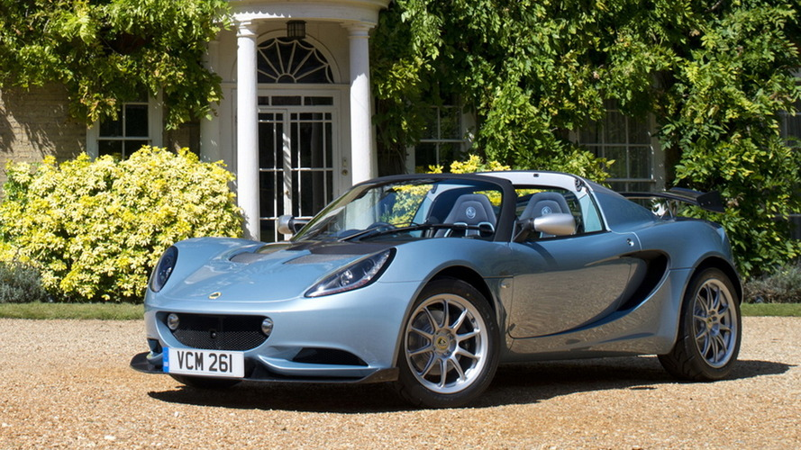 Lotus Elise 250 Special Edition weighs only 1,981 lbs / 899 kg