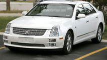 Cadillac STS Facelift Spy Photo