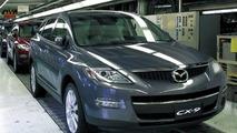 Mazda CX-9 Production Start