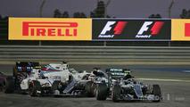 Nico Rosberg, Valtteri Bottas, Lewis Hamilton