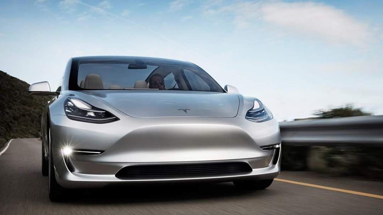 Tesla Model 3 prototype
