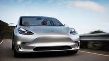 Prototype de la Tesla Model 3