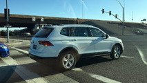 Volkswagen Tiguan LWB spied undisguised in the United States