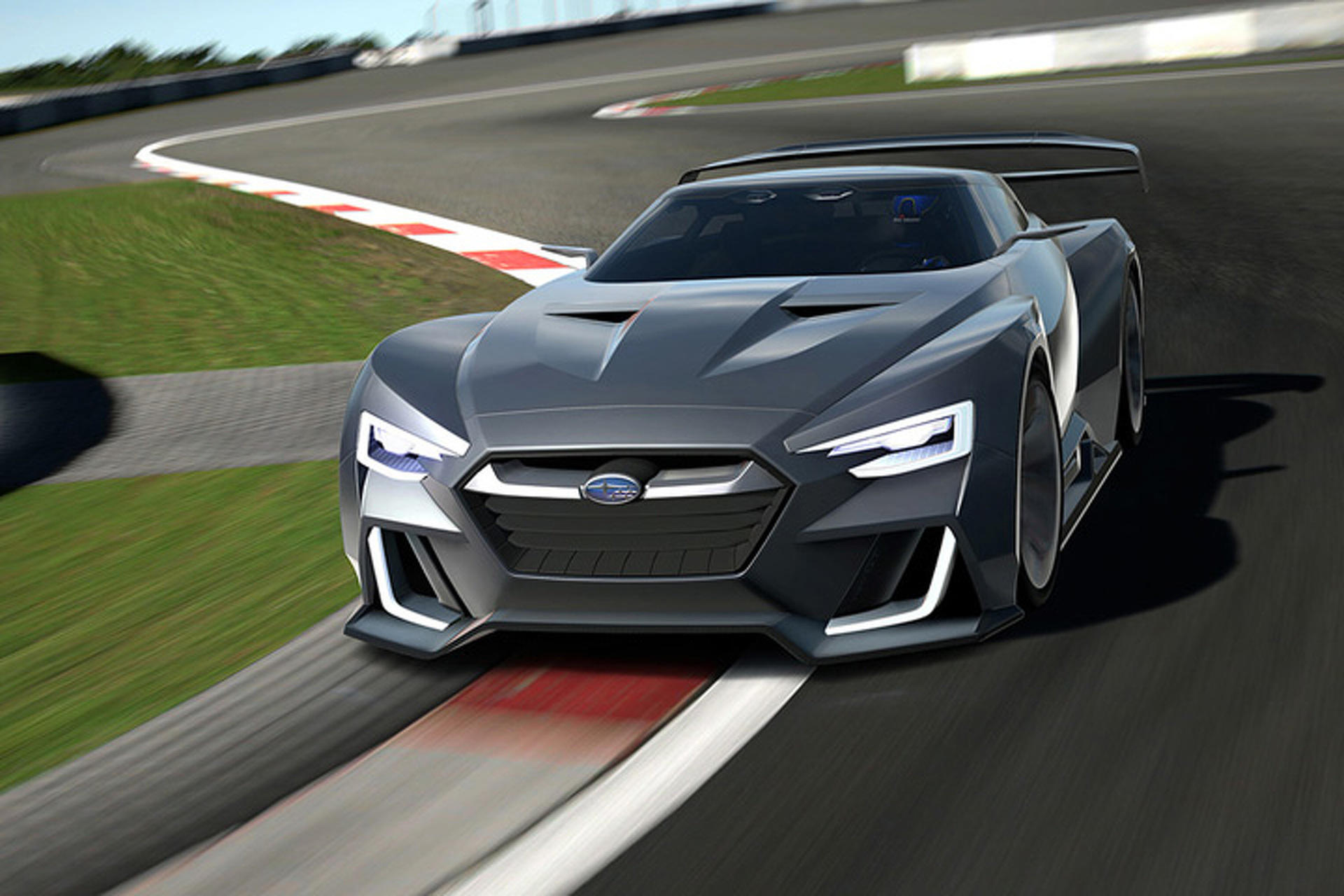 The Subaru VIZIV GT Was Inspired by Fish and Racecars