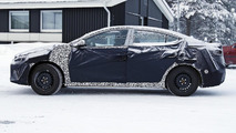 2016 Hyundai Elantra spied wearing full camo
