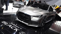 Project Black S Q60 hints at new Infiniti high-performance brand