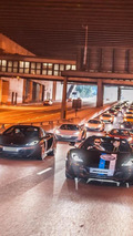 McLaren MP4-12C Parade event in Hong Kong 27.10.2013