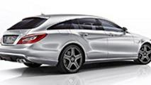 Mercedes CLS 63 AMG Shooting Brake videos released