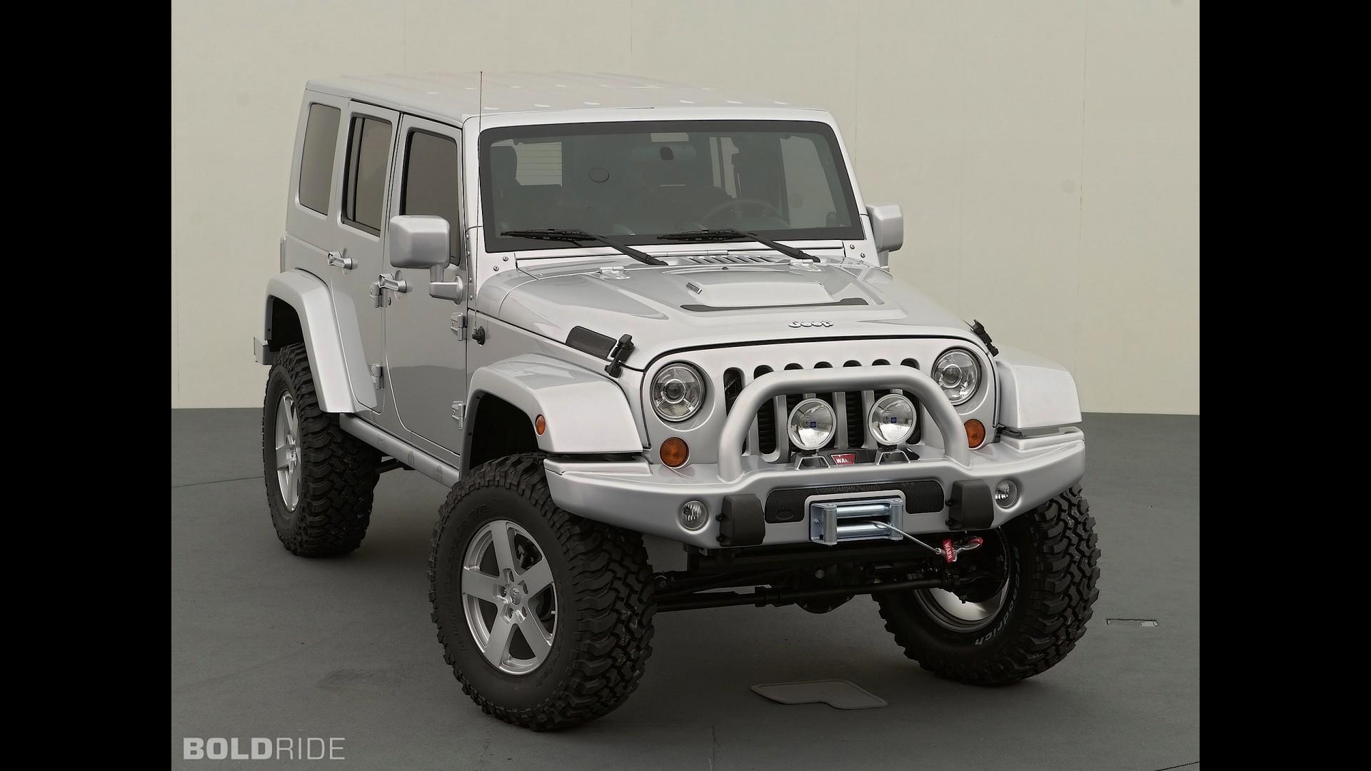Jeep Wrangler Unlimited Rubicon SEMA