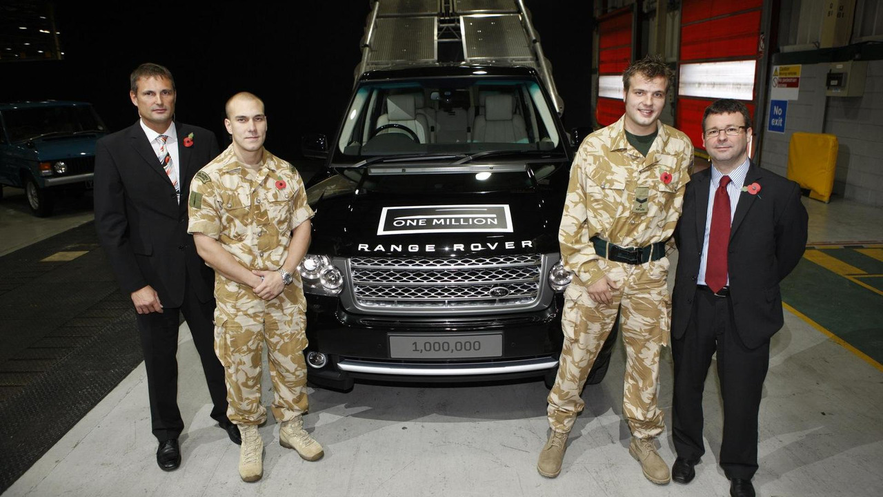 Millionth Land Rover Range Rover