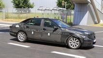 2012 Mercedes-Benz S-Class mule-prototype spy photo 13.07.2010