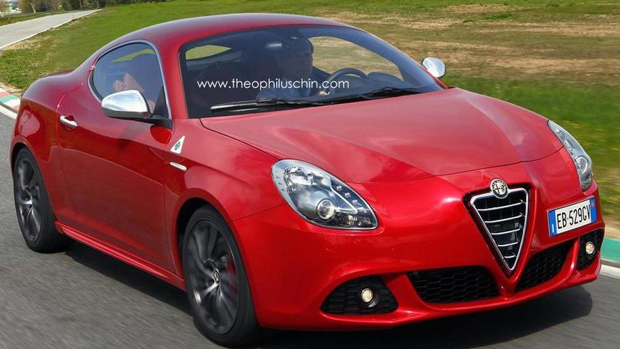 Alfa Romeo Giulietta Sprint in the works?