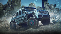 Mercedes AMG 63 6x6 for Apocalypse