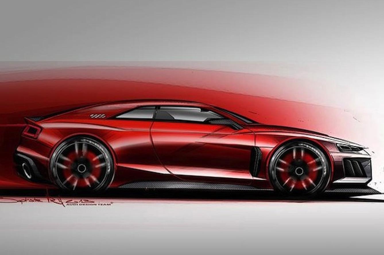 Audi Teases 700HP Quattro Concept for Frankfurt