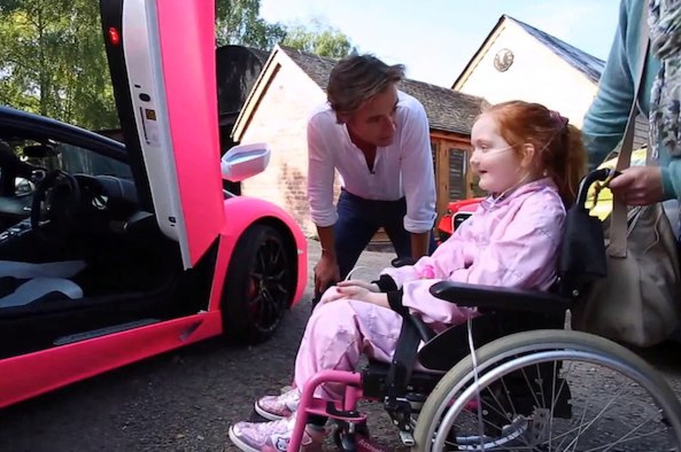 Top Gear's Richard Hammond Makes One Girl's Lamborghini Wish Come True [video]