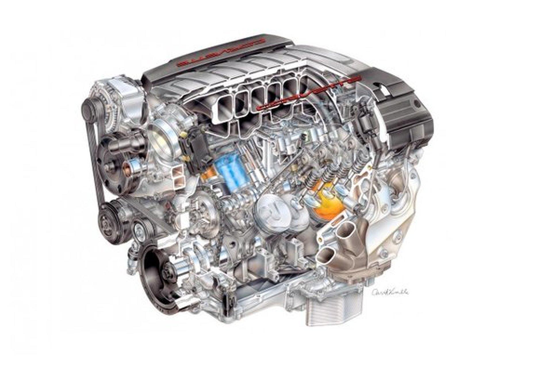 2014 Chevrolet Corvette Receiving New LT1 6.2L Small Block V8