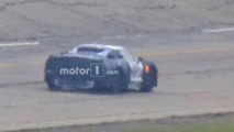 Mid-engine Corvette prototype spy photo