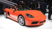 Porsche 718 Boxster marks the return of four-cylinder sports cars