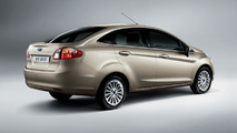 All New Ford Fiesta Sedan Unveiled in China