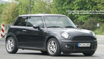 Next Generation MINI sedan spy photos
