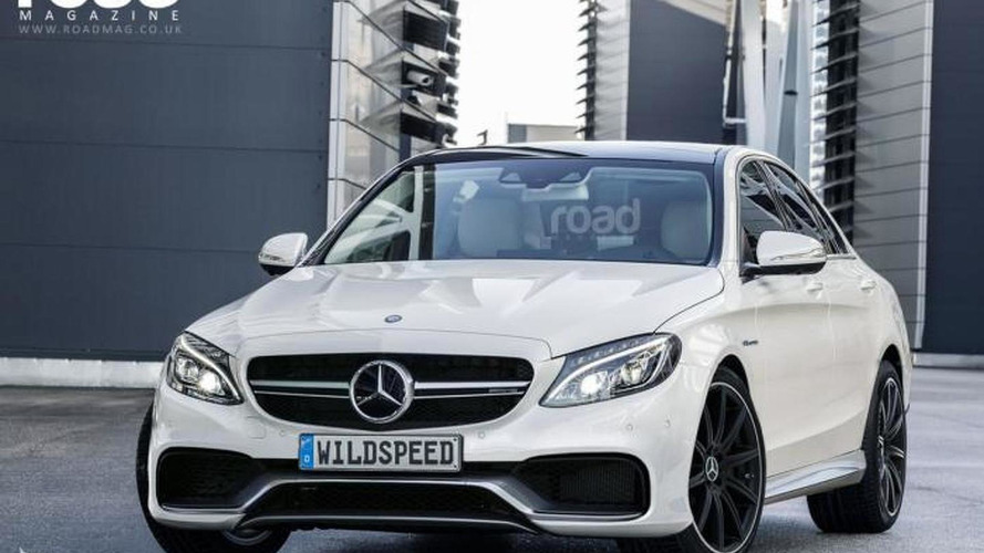 2015 Mercedes-Benz C63 AMG render sees into the future