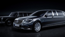 Mercedes-Maybach Pullman unveiled ahead of Geneva