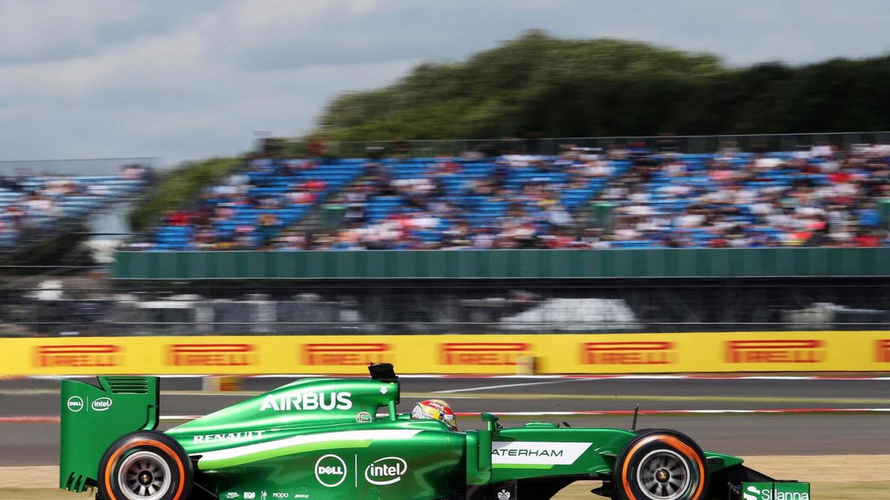 Robin Frijns (NLD) Caterham CT05 Test and Reserve Driver / XPB