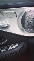 2015 Mercedes C63 AMG leaked interior photo