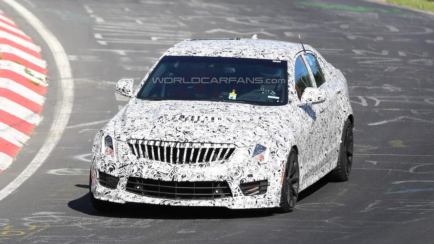 2016 Cadillac ATS-V Sedan spied on the 'Ring