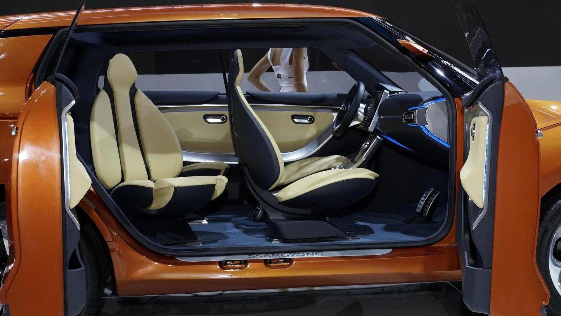 Ssangyong XIV-1 Concept debuts in Frankfurt