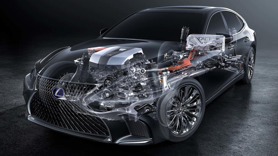 2018 Lexus LS 500h multi-stage hybrid system detailed